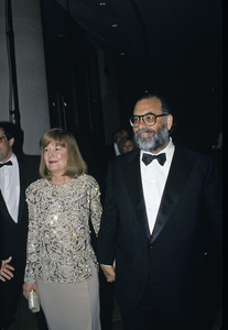 """""""The Golden Globe Awards""""Francis Ford Coppola with wife Eleanor1991 © 1991 Gunther - Image 11568_0157"""