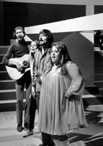 The Mamas and the PapasJohn Phillips, Michelle Phillips,Denny Doherty, Cass ElliotOctober 1967**I.V. - Image 11569_0005