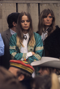 """The Mamas and the Papas (Michelle Phillips and Jill Gibson at """"The Monterey Pop Festival"""") 1967 © 1978 Gunther - Image 11569_0021"""