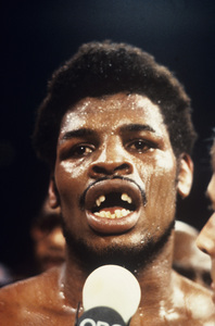 Leon Spinks after his fight with Muhammad Ali1978© 1978 Gunther - Image 11585_0005