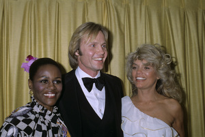 """Jon Voight with Cicely Tyson and Dyan Cannon at """"The 36th Annual Golden Globe Awards""""1979© 1979 Gary Lewis - Image 11589_0028"""
