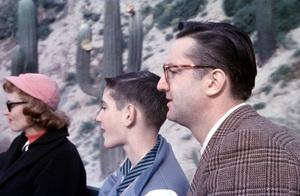 DisneylandSteve Allen, Donna Reed & son.c. 1955. © 1978 Gerald Smith - Image 11598_0001