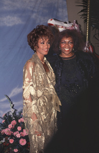 Whitney Houston & Cissy Houston at the Carousel Ball1990 © 1990 Gunther - Image 11609_0001