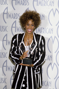 "Whitney Houston at ""The 14th Annual American Music Awards""1986© 1986 Gary Lewis - Image 11609_0006"
