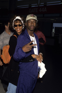 Whitney Houston and Bobby Brown1996© 1996 Gary Lewis - Image 11609_0009
