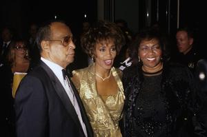 Whitney Houston and mother Cissy1990© 1990 Gary Lewis - Image 11609_0012