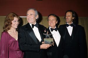 """The American Film Institute Salute to Henry Fonda""Jane Fonda, Henry Fonda, George Stevens Jr., Peter Fonda1978 © 1978 Gunther - Image 11614_0004"