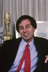 Brandon Tartikoff in his NBC office1987© 1987 Gunther - Image 11617_0002