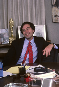 Brandon Tartikoff in his NBC office1987© 1987 Gunther - Image 11617_0010