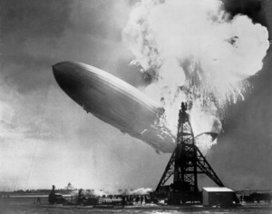 Hindenberg Disaster at Lakehurst,New Jersey, 1937Photo by Sam Shere**JS - Image 11629_0001