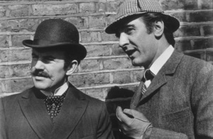 """""""Private Life of Sherlock Holmes, The""""Colin Blakely, Robert Stevens1970 UA / MPTV  - Image 11660_0001"""