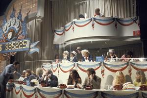 """Democratic Fundraiser Telethon""Monty Hall, Henry Fonda, Gene Hackman, Sally Strutherscirca 1976 © 1978 Gunther - Image 11695_0006"