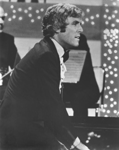 Burt Bacharach Performing for aTV Special in London, 1972 © 1978 Chester Maydole - Image 11707_0005
