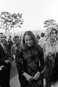 Michelle Phillips at Frank Sinatra