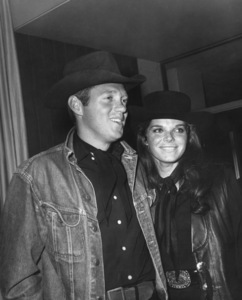 Samantha Eggar with husband Tom Stern at a Share Party1966Photo by Joe Shere - Image 11734_0011