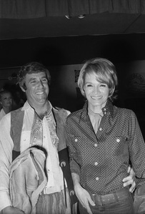 """""""Share Party""""Angie Dickinson, Burt Bacharach1971 © 1978 Gunther - Image 11742_0001"""