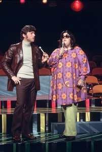Mama Cass Elliot and Steve Lawrence1970 © 1978 Gene Trindl - Image 11760_0004