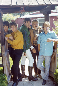 """""""Paul Revere and the Raiders""""Jim Valley, Phil Volk, Mark Lindsay, Paul Revere, Mike Smithcirca 1966© 1978 Gunther - Image 11790_0002"""