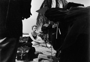 """Deborah Kerr during the making of """"The Proud and Profane""""1955 © 1978 Bill Avery - Image 1180_0175"""