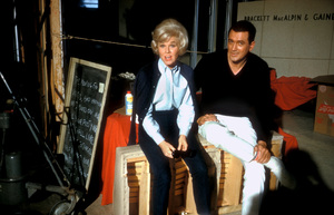 """""""Lover Come Back""""Doris Day and Rock Hudson on the set1961 © 1978 Bob Willoughby - Image 11806_0002"""