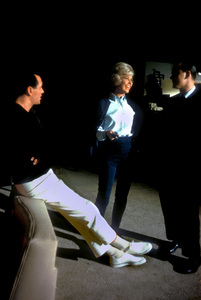 """""""Lover Come Back""""Rock Hudson and Doris Day on the set1961 © 1978 Bob Willoughby - Image 11806_0003"""