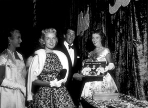 """""""High Societ"""" Premiere,Dean Martin and wife Jeanne, 1956. - Image 11807_0004"""