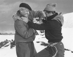 """""""The Mountain""""Spencer Tracy, Robert Wagner1956 Paramount © 1978 Bill Avery - Image 1181_0002"""