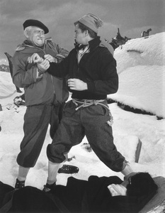 """""""The Mountain""""Spencer Tracy, Robert Wagner1956 Paramount © 1978 Bill Avery - Image 1181_0003"""