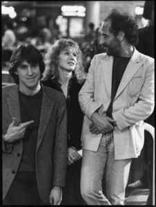 """""""Fast Times at Ridgemont High""""Director Cameron Crowe, Nancy Wilson, producer Art Linson1982 Universal© 1982 Ron Grover - Image 11821_0045"""