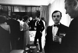 """""""Bloomingdale Party""""Nancy Reagan, James Galanos, Dominick Dunne1967 © 1978 Bob Willoughby - Image 11835_0002"""