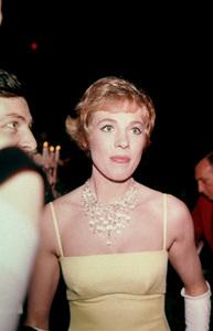 """Academy Awards - 37th Annual""Julie Andrews with husband Tony Walton (far left)1965 © 1978 Bernie Abramson - Image 1185_0019"