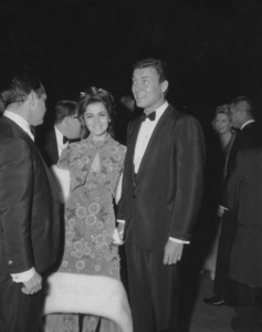 """""""Academy Awards - 37th Annual""""Ann-Margret, Roger Smith1965 - Image 1185_0029"""
