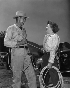 """Blowing Wild""Gary Cooper, Barbara Stanwyck1953 Warner Brothers - Image 11875_0004"