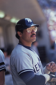 Reggie Jackson playing for the New York Yankees1980 © 1980 Gunther - Image 11910_0021