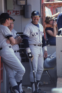 Reggie Jackson playing for the New York Yankees1980 © 1980 Gunther - Image 11910_0022