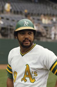 Reggie Jackson playing for the Oakland Athletics1974 © 1978 Gunther - Image 11910_0027