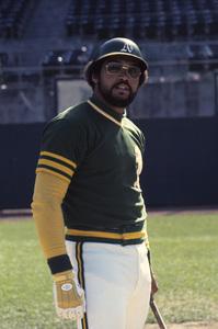 Reggie Jackson playing for the Oakland Athletics1974 © 1978 Gunther - Image 11910_0028