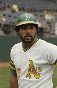 Reggie Jackson playing for the Oakland Athletics1974 © 1978 Gunther - Image 11910_0029