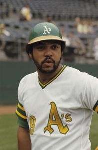 Reggie Jackson playing for the Oakland Athletics1974 © 1978 Gunther - Image 11910_0029