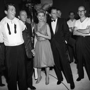 """The Frank Sinatra Timex Show"" (Bing Crosby and Dean Martin Present High Hopes)Dean Martin, Bing Crosby, Mitzi Gaynor, Frank Sinatra, Sammy Cahn1959 © 1978 Gene Howard - Image 1198_0004"