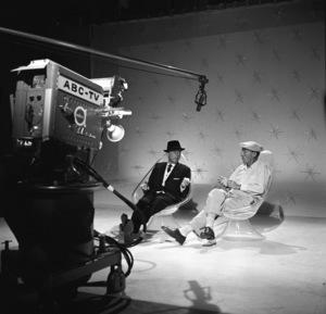 """The Frank Sinatra Timex Show"" (Bing Crosby and Dean Martin Present High Hopes) Frank Sinatra, Bing Crosby 1959 © 1978 Gene Howard - Image 1198_0006"
