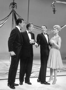 """The Frank Sinatra Timex Show"" (Bing Crosby and Dean Martin Present High Hopes) Dean Martin, Bing Crosby, Frank Sinatra, Mitzi Gaynor 1959 © 1978 Gene Howard - Image 1198_0008"
