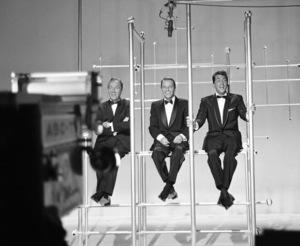 """The Frank Sinatra Timex Show"" (Bing Crosby and Dean Martin Present High Hopes) Bing Crosby, Frank Sinatra, Dean Martin 1959 © 1978 Gene Howard - Image 1198_0026"