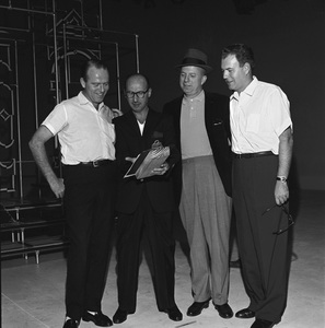 """""""The Frank Sinatra Timex Show"""" (Bing Crosby and Dean Martin Present High Hopes) Sammy Cahn with Jimmy Van Heusen and Nelson Riddle 1959 © 1978 Gene Howard - Image 1198_0036"""