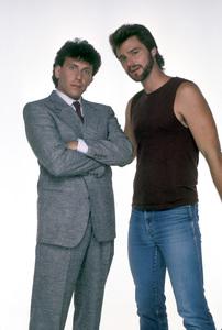 """My Two Dads""Paul Reiser, Greg Evigan1987 © 1987 Mario Casilli - Image 11983_0003"