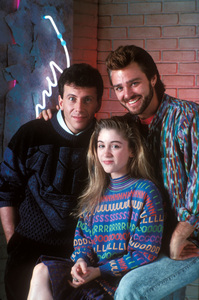 """My Two Dads""Paul Reiser, Staci Keanan, Greg EviganC. 1988**H.L. - Image 11983_0008"