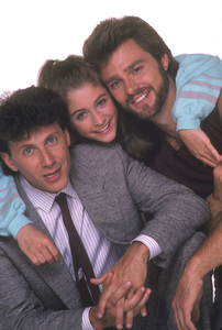 """My Two Dads""Paul Reiser, Staci Keanan, Greg Evigan1987 © 1987 Mario Casilli - Image 11983_0010"