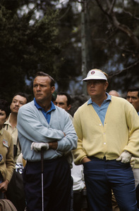 Jack Nicklaus and Arnold Palmer April 1960 © 1978 Gunther - Image 11986_0002