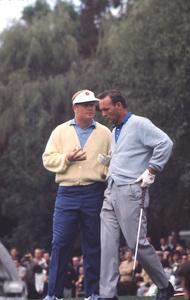 Jack Nicklausand Arnold PalmerApril 1960 © 1978 Gunther - Image 11986_0003