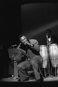Joe Frazier performingcirca 1970s© 1978 Gunther - Image 11992_0009